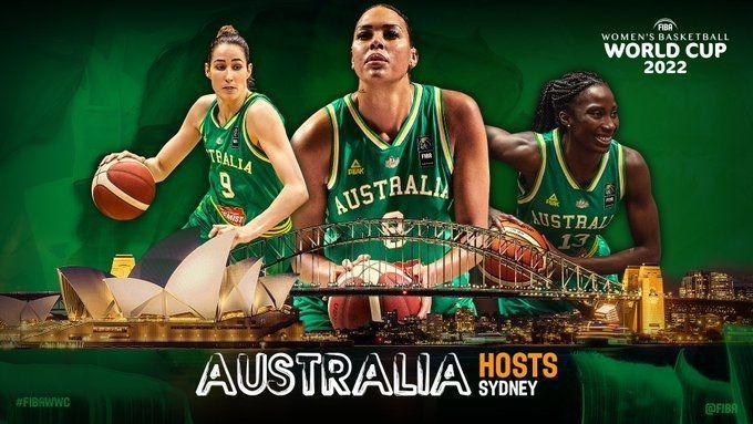 Sydney Australia To Host 2022 Women S Basketball World Cup In 2020 World Cup Womens Basketball World Cup 2022