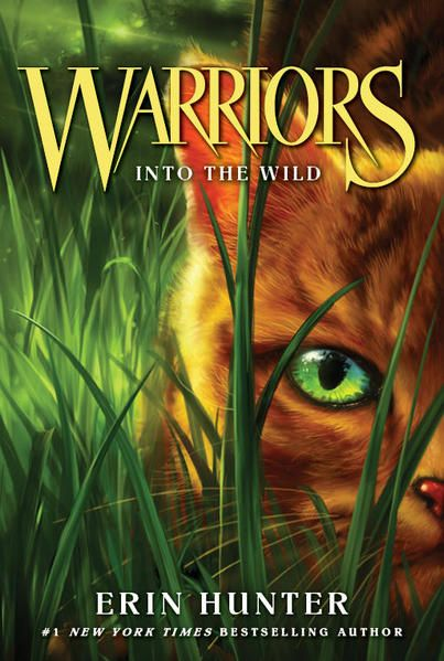 Warriors Into The Wild by Erin Hunter - Reading Challenge: a book with a nonhuman character (bonus, trying to figure out why my kids are obsessed with this series)