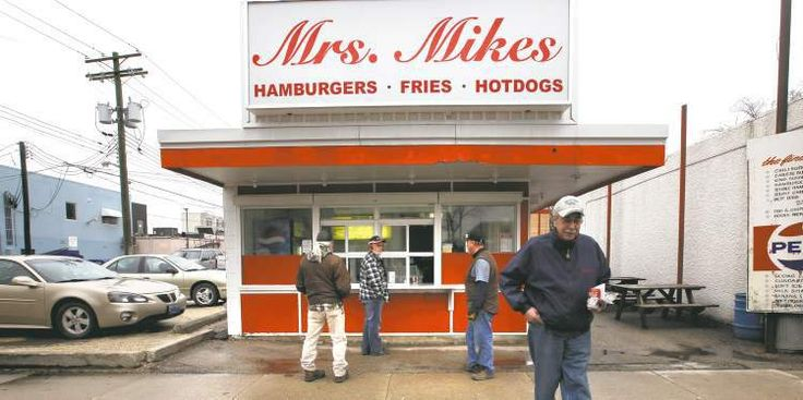 Photos by Ruth Bonneville / Winnipeg Free Press Mrs. Mikes burger stand has been a mainstay on Taché Avenue for decades, but these days it opens without founder Nick Mikos, who worked the grill from 1967 until his death last year.