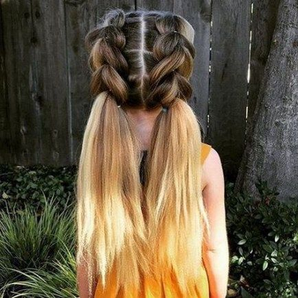 New Braids For Girls Kids Easy Hairstyles Hairdos 46 Ideas