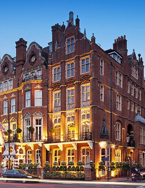 The dog friendly 5* Milestone Hotel - A Red Carnation Hotel. Simply 'pawfect'.