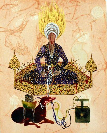 Shiva Ahmadi, Untitled 8, 2012 on Paddle8