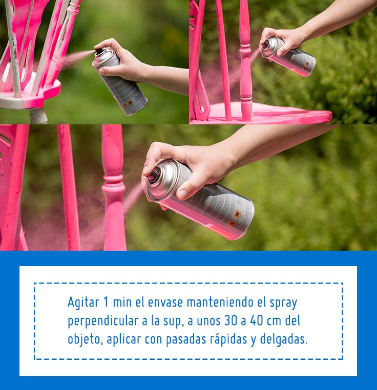 ¡Dale vida nueva a tus sillas! Sigue estos consejos y aprende a pintarlas con pintura en spray. #Sodimac #Homecenter #SodimacHomecenter