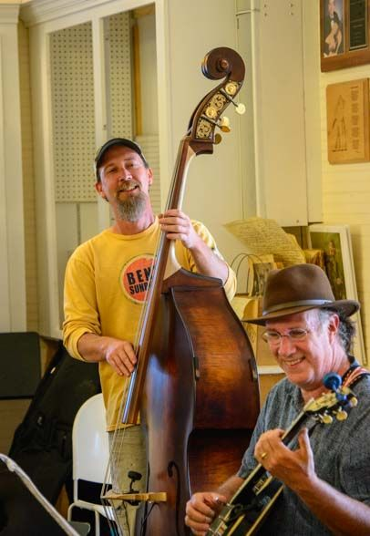 We saw an AWESOME bluegrass music jam in Floyd Virginia.  More pics and a video clip at the link: http://roadslesstraveled.us/floyd-country-store-bluegrass-sunday-music-jam-virginia/