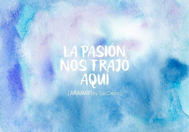 Nuestros emprendedores: Aramayí by SacDeco