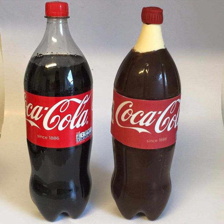 Coca Cola chocolate bottle