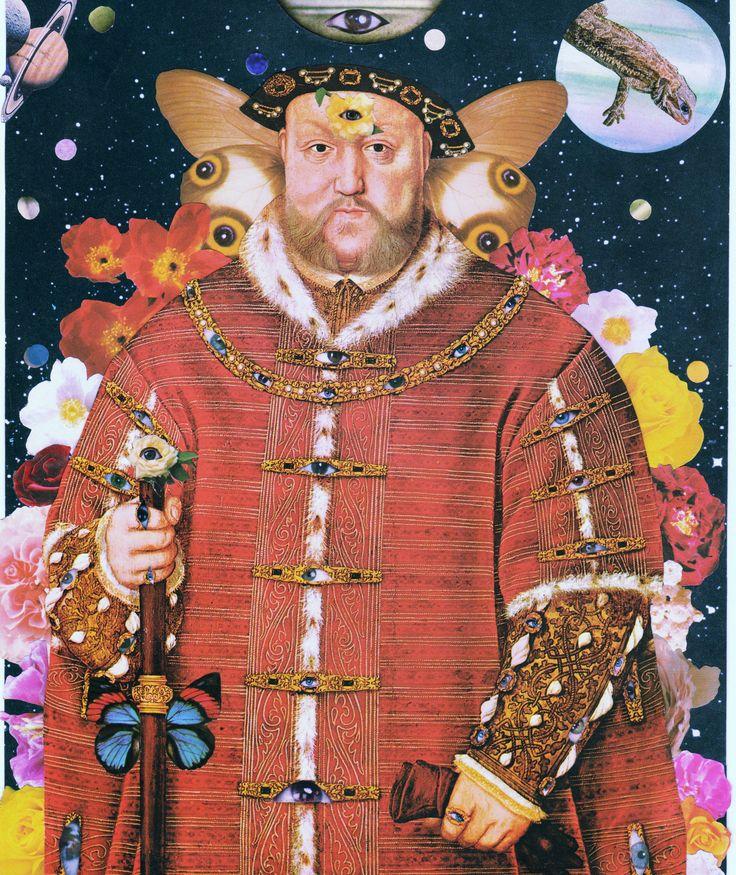 Ocular Aristocracy - Keinwyn Shuttleworth #collage