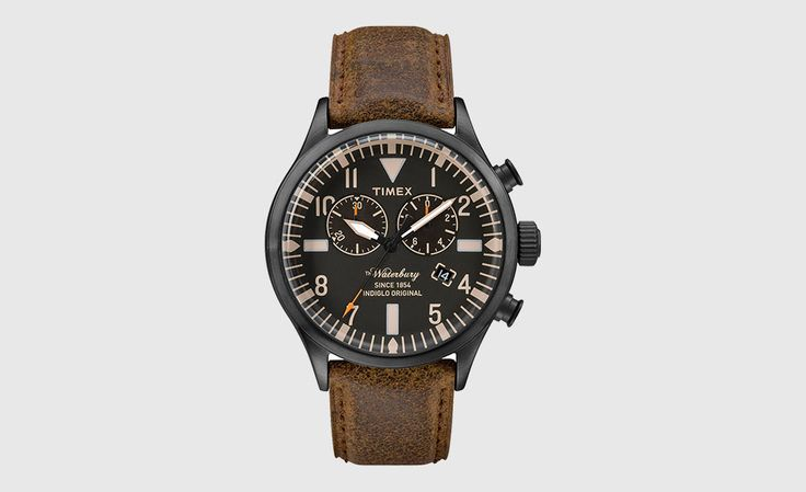 Timex The Waterbury Collection   Cool Material  Want this!!!