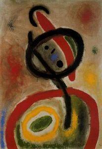 Mujer 4 - (Joan Miro)