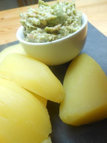 Avocado-Lachs-Dip | Et Tring kocht