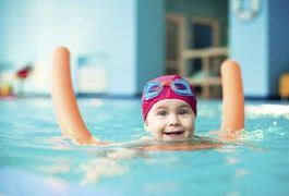 Swimming lessons for toddlers generally focus on making the child comfortable in the water. Though the American Academy of Pediatrics previously stated that a kid under the age of 4 is not developmentally ready for formal swimming lessons, the organization recently gave the OK for a child this young to receive formal instruction if the parents feel...