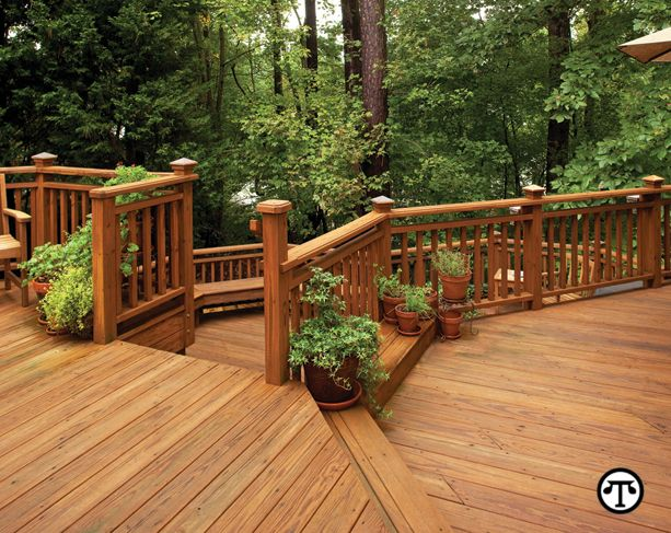 2 Level Deck Design On A Dime Pinterest Gardens