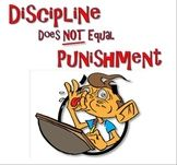 FOLDABLE PAMPHLET - Print this on legal size paper and fold it into a unique little handout. Give one to parents, teachers...anyone who thinks that punishment is the answer. IT'S NOT!!! https://www.teacherspayteachers.com/Product/Discipline-Not-Punishment-Foldable-Pamphlet-999376     ------SHARE IT -- PIN IT!