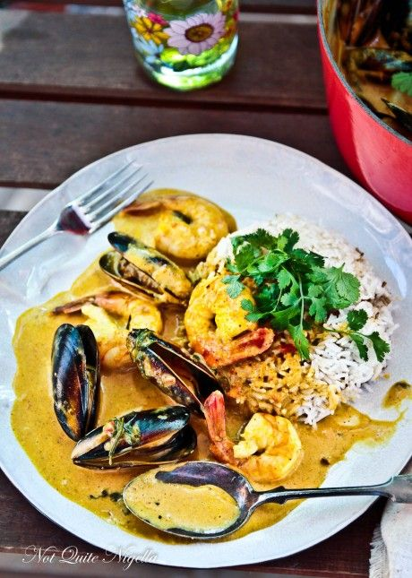 seafood curry- to make with rice and shrimp