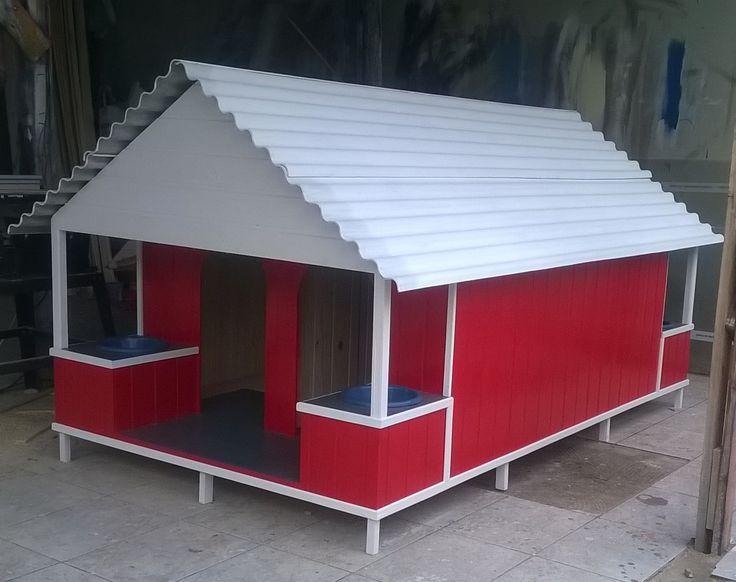 casinha de madeira para cães