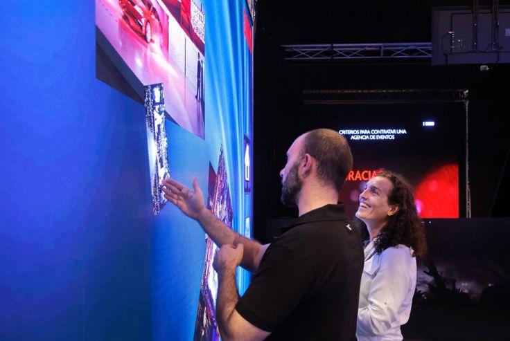 Pantalla de leds multitáctil #avprofs #eventprofs #multitouch #interactivity #eventodays