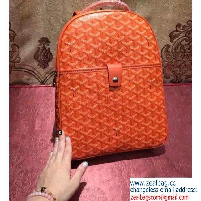 2015 NEW Newly Launched 2015 Goyard Backpack Orange Replica