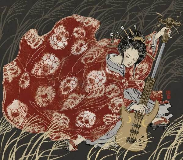 Asian Super-girls! by Yuko Shimizu, via Behance
