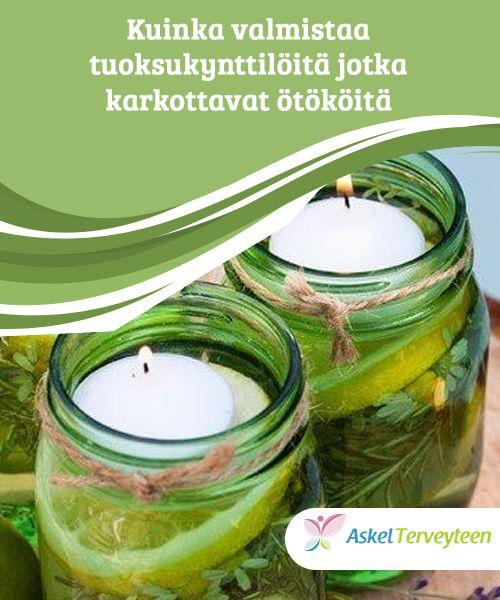 Kuinka valmistaa tuoksukynttilöitä jotka karkottavat ötököitä   Kotitekoiset #aromaattiset kynttilät ovat täydellinen tapa pitää ötökät loitolla ja antaa kodillesi #koristeellinen ilme. Opi #valmistamaan niitä!  #Mielenkiintoistatietoa