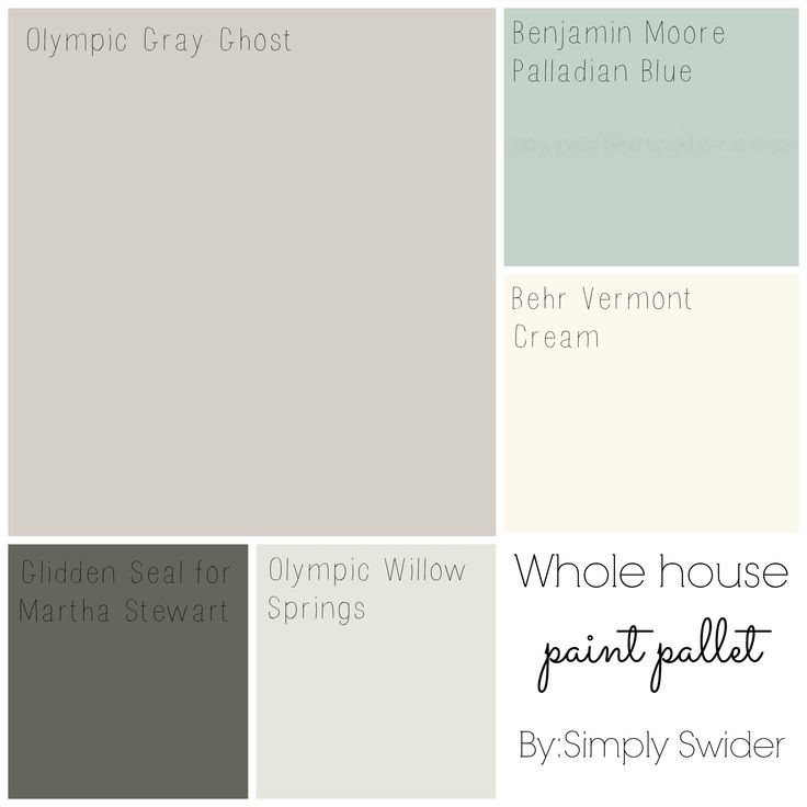 How I pick paint colors and why you should never get paint color matched