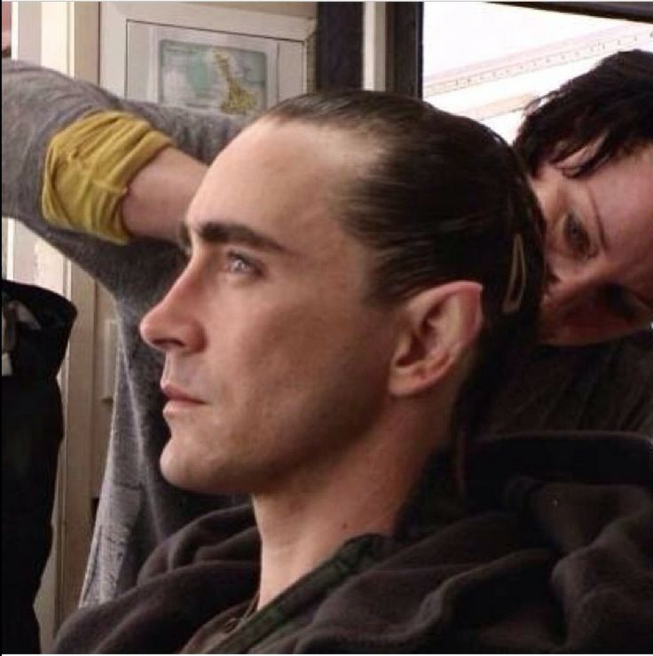 Lee Pace getting prepped for Thranduil
