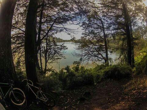 Laguna grande, San Pedro de la Paz, Concepción, Chile.
