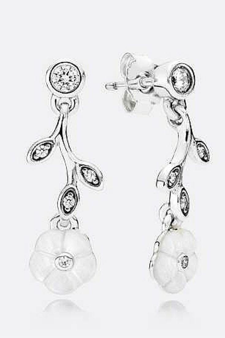 Pandora bracelet dillards - Elegant Mother Of Pearl Pandora Earrings Add Sophistication Pandoratexas Pandoraearrings