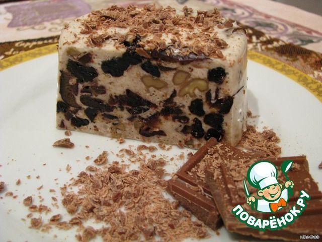 Десерт из чернослива и ореха ингредиенты