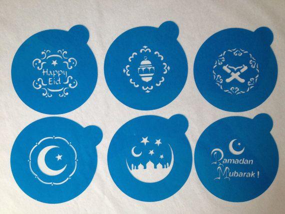 Hey, I found this really awesome Etsy listing at https://www.etsy.com/listing/161586366/happy-eid-ramadan-mubarak-cookie-stencil  $9.00
