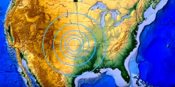 It's Official: Injection of Fracking Wastewater Caused Kansas' Biggest Earthquake.     The largest earthquake ever recorded in Kansas—a 4.9 magnitude temblor that struck northeast of Milan on Nov. 12, 2014—has been officially linked to wastewater injection into deep underground wells, according to new research from the U.S. Geological Survey (USGS).  The epicenter of that extremely rare earthquake struck near a known fracking operation.
