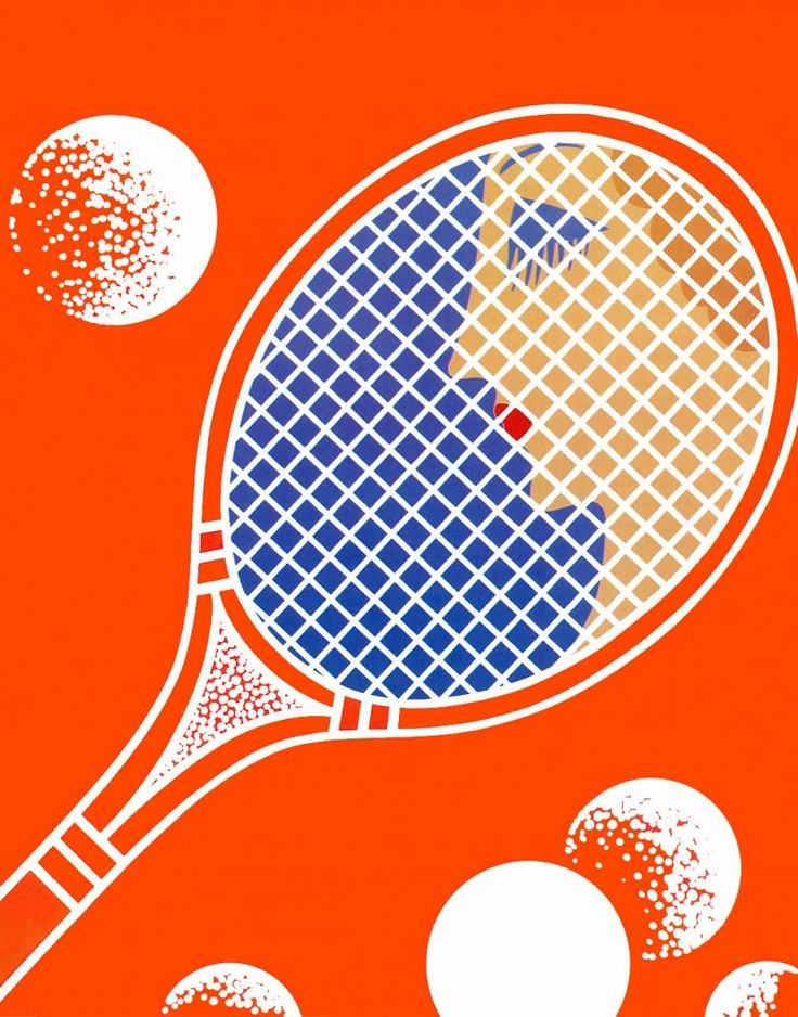 Tennis tennis dingen pinterest pencil and tennis - Deco foto ...