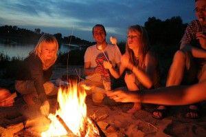 10 campfire games and camping idea book reviews