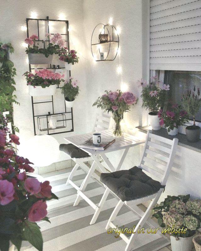Balkon ideen 2019-Balkon #balkon#balkon #balkonideen #pflanzen – Elísabet Hilmarsdóttir