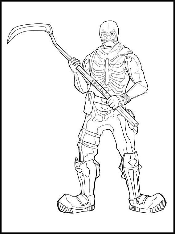 fortnite 8 printable coloring pages for kids  pirate