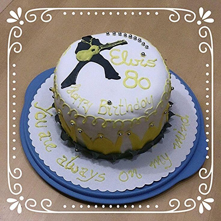 Birthday cake, Geburtstagstorte, Elvis <3