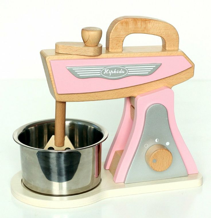 Pink Retro Kitchen Toy Mixer
