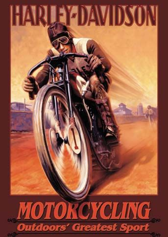 HARLEY-DAVIDSON - Motorcycling - Outdoors` Greatest Sport