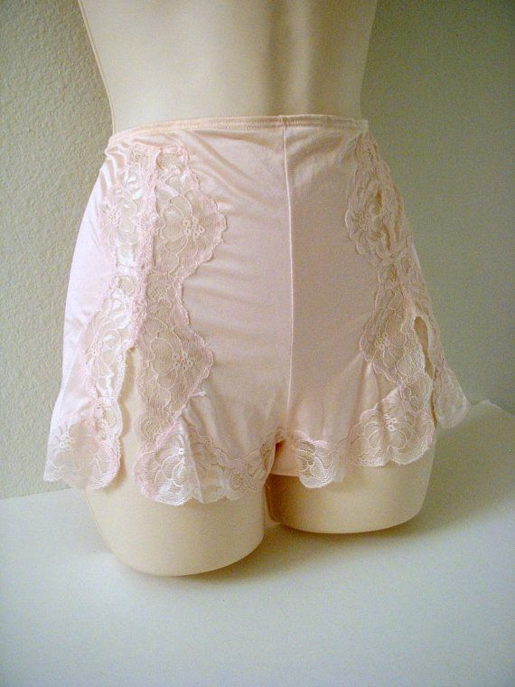 Vintage Pink Nylon Tap Panties by Kayser Nylon by OmAgainVintage