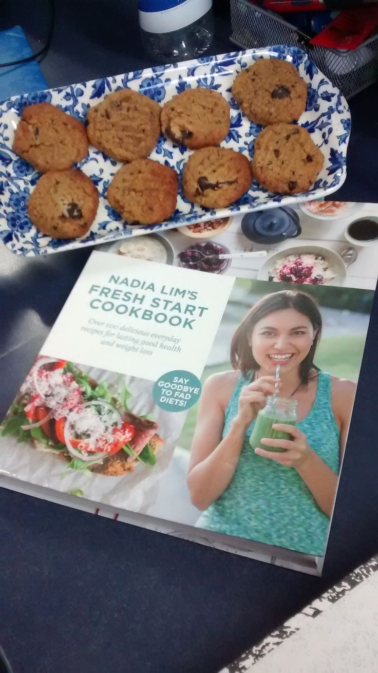 Tania made these yummy chick pea cookies for our team to try from the Nadia Lim cookbook! Posted below her book and the cookies! They are a soft texture so nice and scrummy! MAKES: 16 PREP TIME: 10...