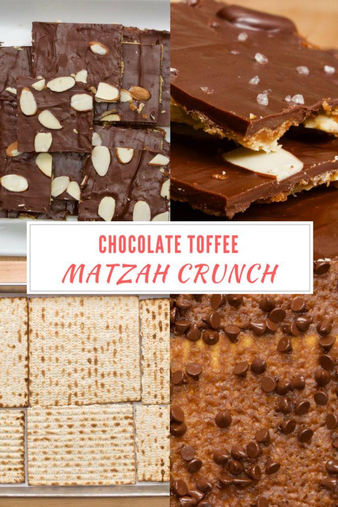 Chocolate Toffee Matzah Crunch