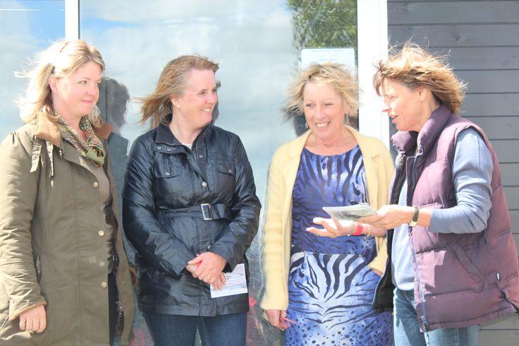 Meeting Carol Klein at RHS Malvern 2014