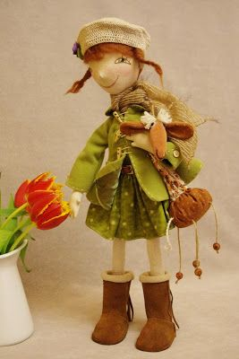 NKALE:-) In the heart of each toy: Janka! Girl-Spring)