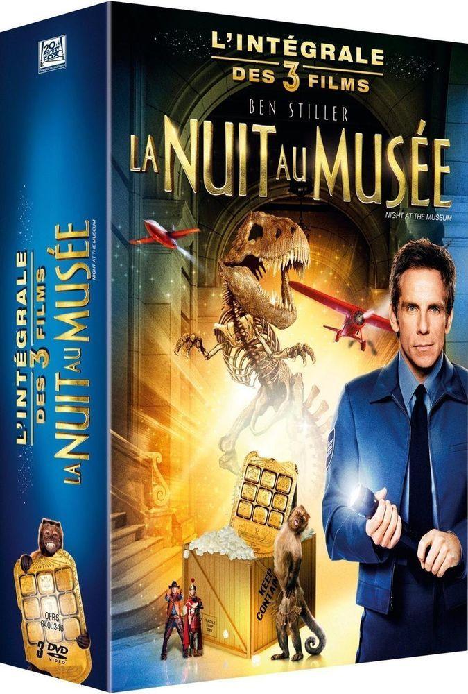 La Nuit au musée 3 : L intégrale des 3 films - DVD