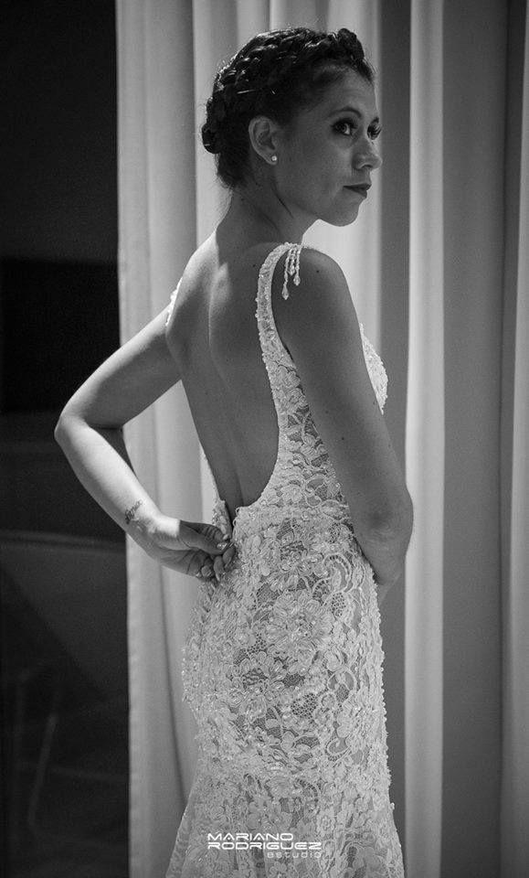 Vestido de novia de Marisa Campanella