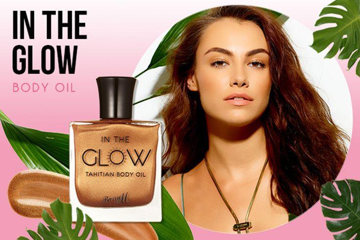 Geef jezelf een prachtig zomerse gloed met Barry M In The Glow Tahitian Body Oil.