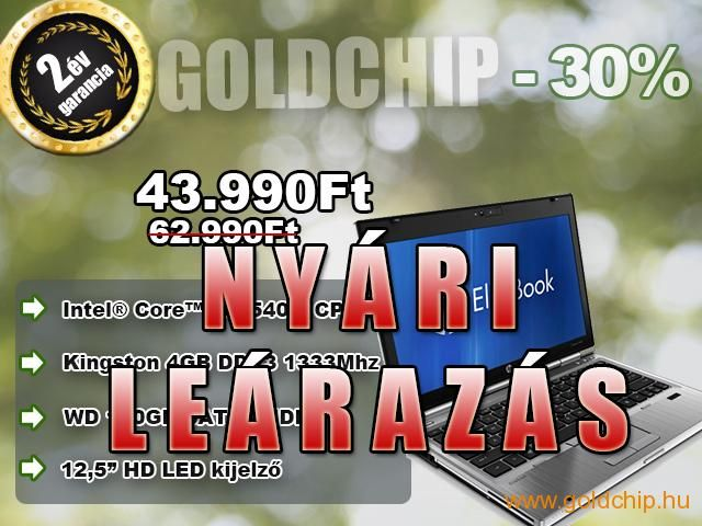 HP Intel Core i5-2540 3,3Ghz Notebook (4GB RAM - 160GB HDD)  http://www.goldchip.hu/HP-Intel-Core-i5-2540-3-3Ghz-Notebook-4GB-RAM-160GB-HDD-d30937.htm