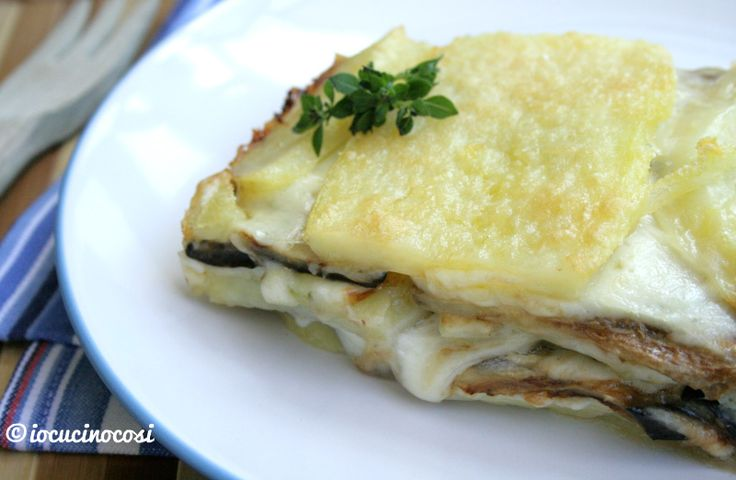 Melanzane e patate alla parmigiana