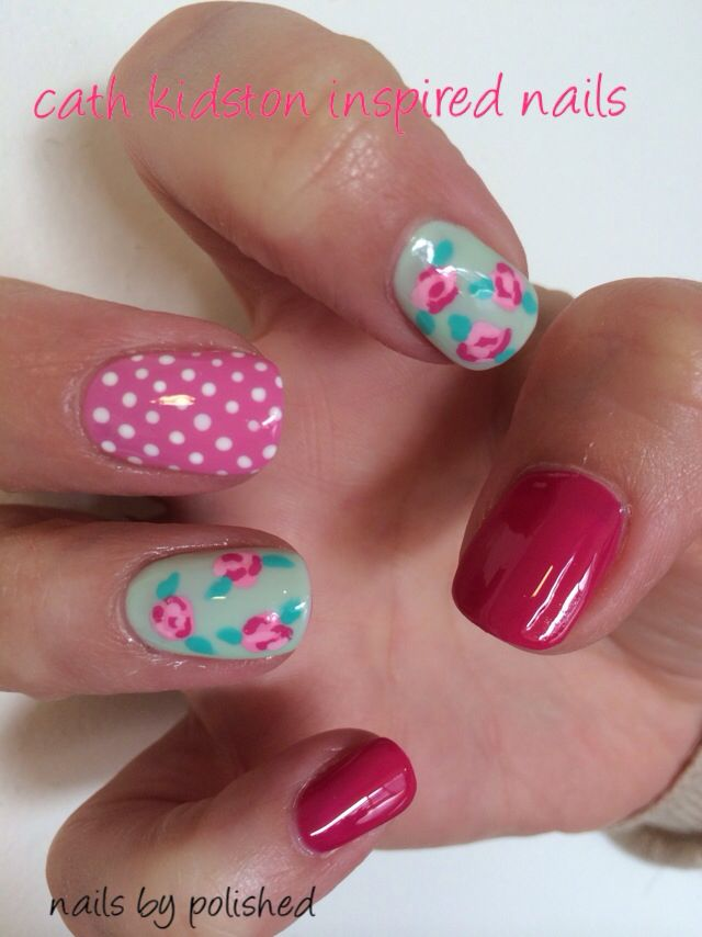 65 best calgel nails by polished images on pinterest calgel flower calgel prinsesfo Gallery