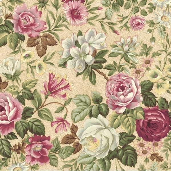 83 best Caderno Papeis images on Pinterest | Tags, Appliques and Bags : floral quilting fabric - Adamdwight.com