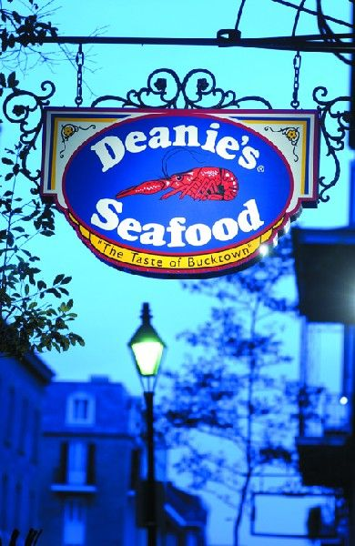 Deanie's Seafood New Orleans - the fried seafood is amazing, but the crawfish étouffée is my favorite!